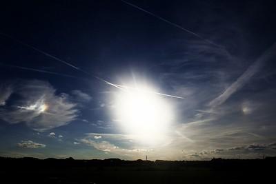 Parhelia 28.9.2012 cca 17:20, Olomouc