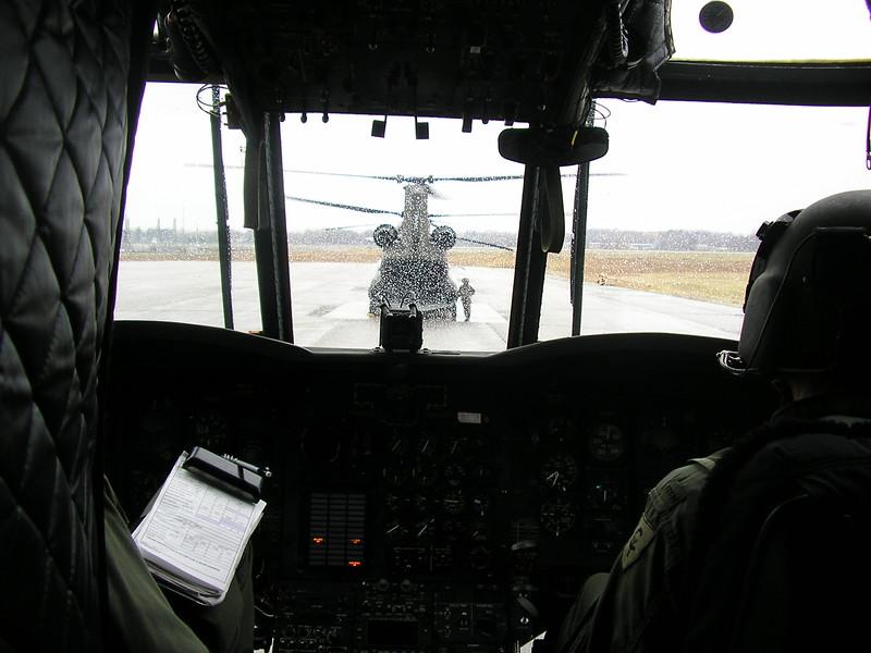 Landing in the Rain