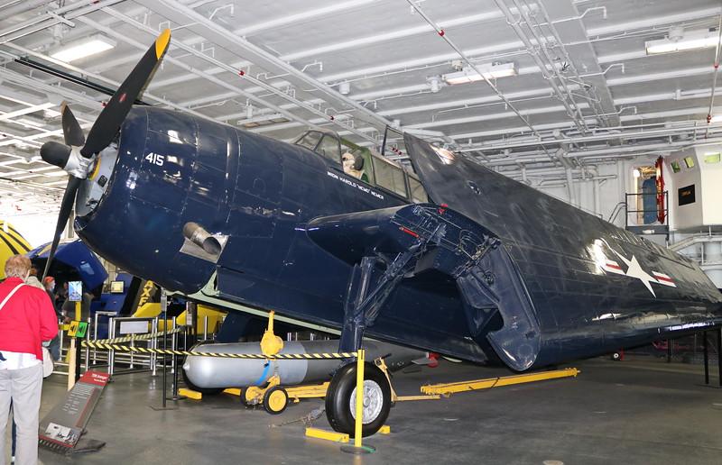 TBM Avenger Propeller Airplane