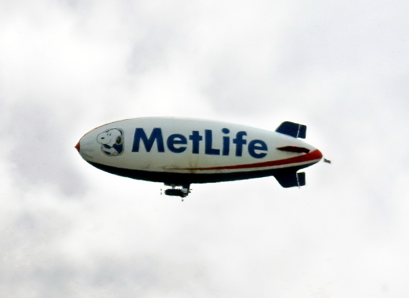 MetLife Snoopy Blimp