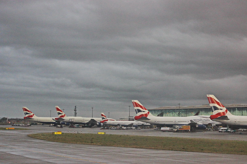 British Airways Lineup