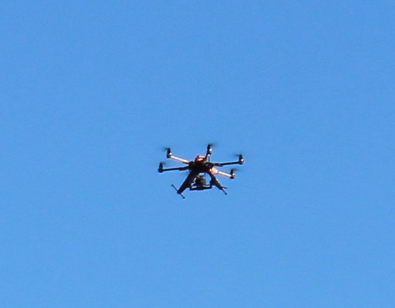 Media Drone Photographing 5K Race