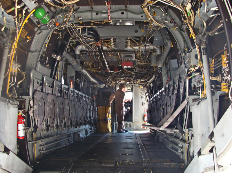 Osprey Aircraft Interior
