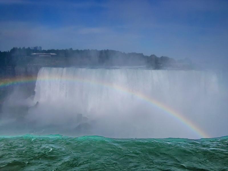 Rainbow at Niagara Falls