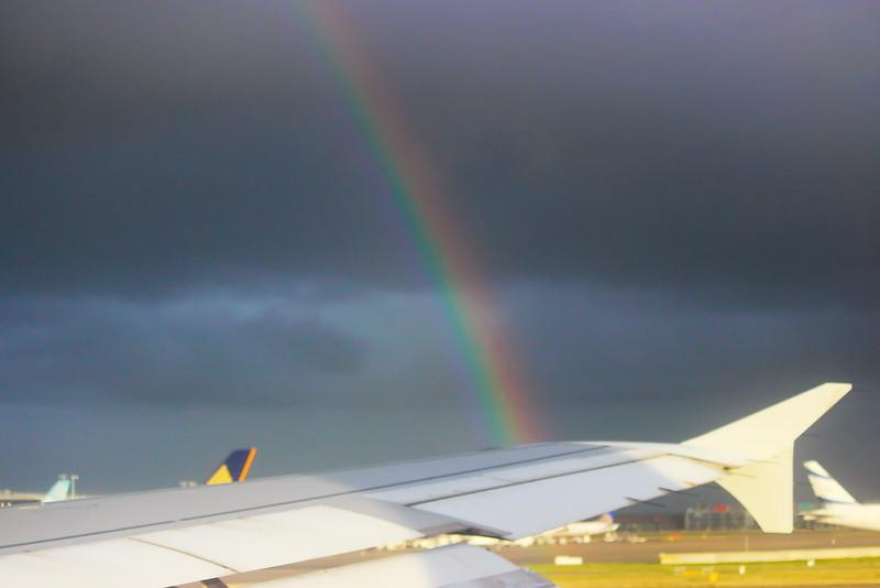Rainbow at Heathrow