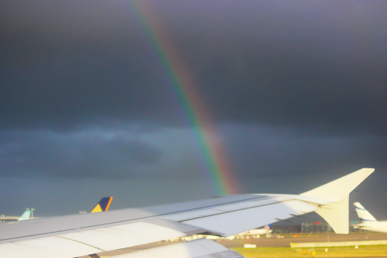 Rainbow at Heathrow