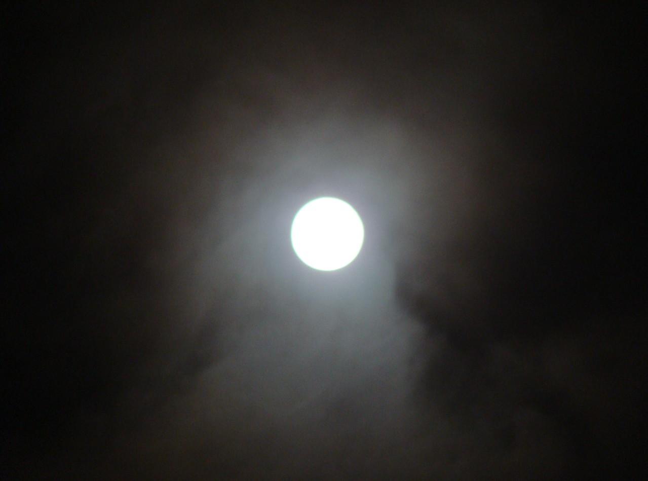 Blue Moon over San Francisco