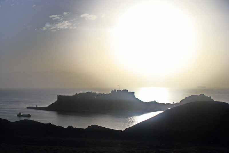 Salahdin Fortress at Sunset