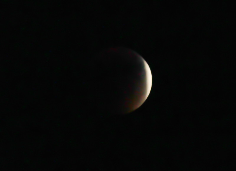 Blood Moon in Shadow