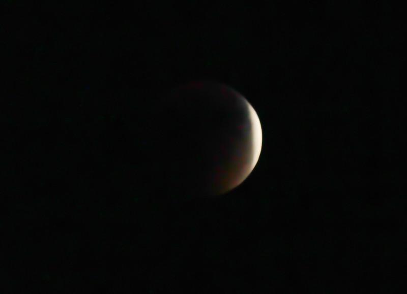 Blood Moon in Shadow