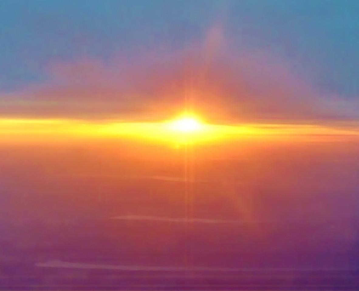 Finger Lakes Sunset in Winter