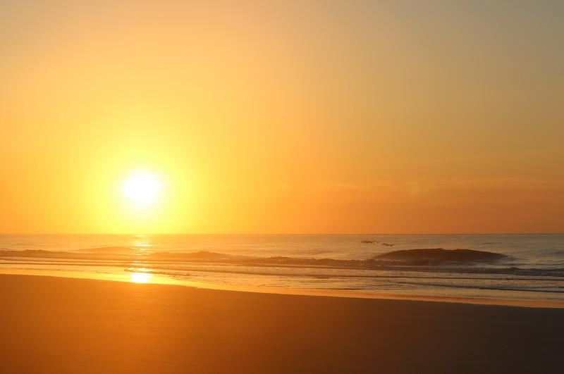 Blinding Sunrise