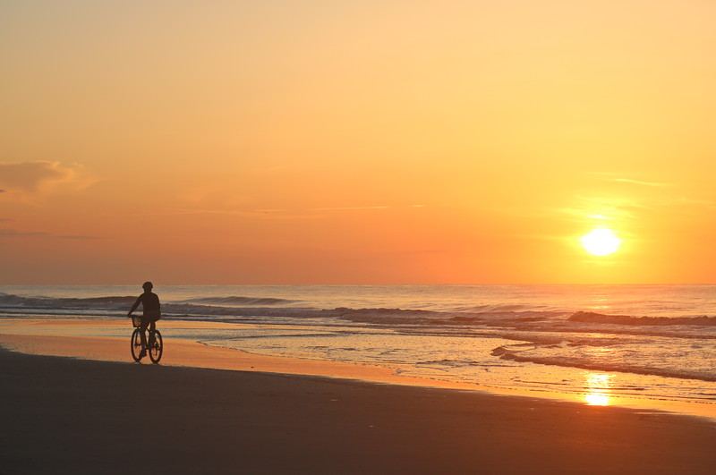 Biking at Dawn