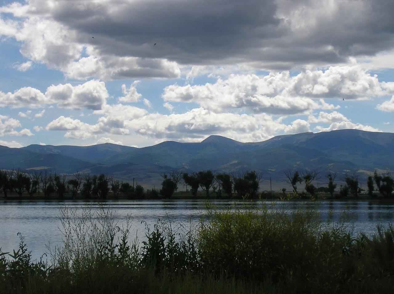 Home Lake Sky