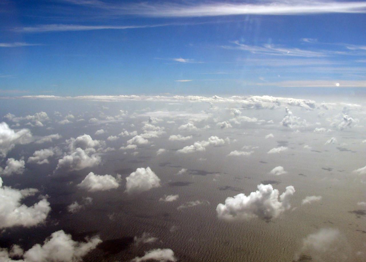 Over the Atlantic