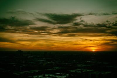Sunset December 3 2017
