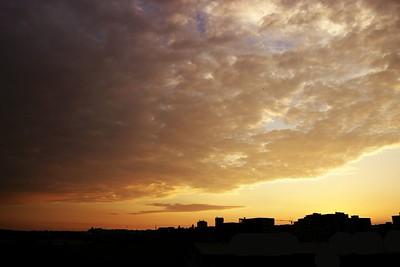 Západ slunce 29.6.2015