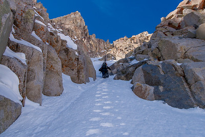 Lightening Ridgeline Couloir