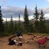 Scored a sweet camping spot.