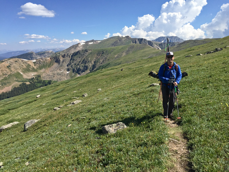 Hiking on the Continental Divide