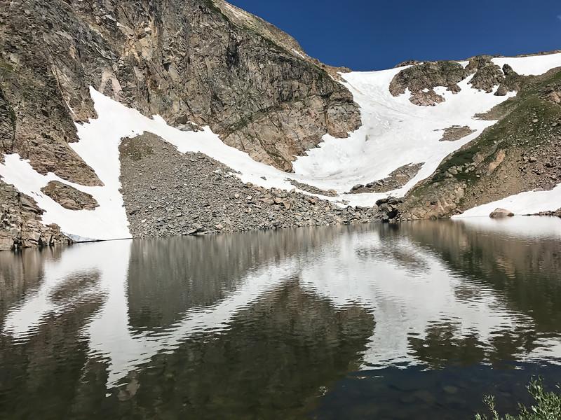 Skyscraper Glacier and Bob Lake