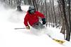 Evan Waldman & Noah Labow Having fun, Skiing Woods 2006