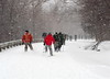 Skiing Behind the Troops, Smugglers Notch 2006