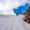 Mike Meru on Conundrum Peak