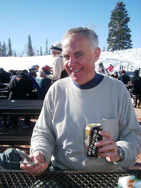 303 Ron on Rendevous Lodge Deck