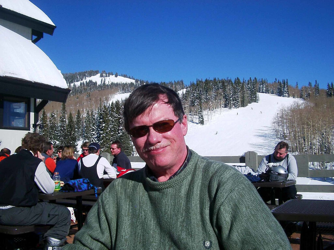 305 Bruce on Rendevous Lodge Deck