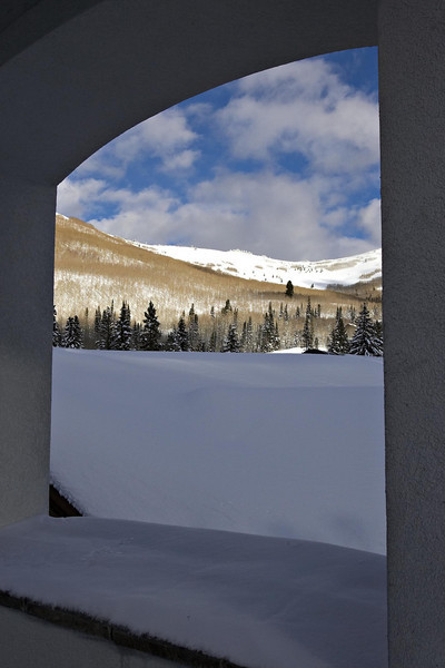 Window into winter wonderland at Solitude resort
