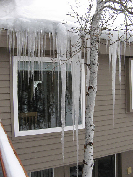 17 Icicles at House, Park City