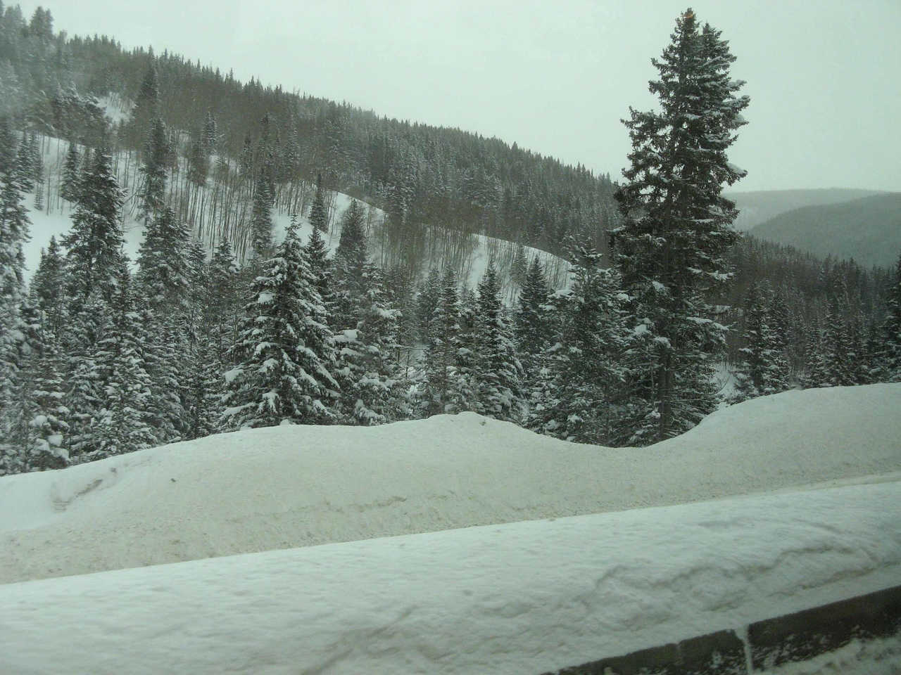 42 Snow near Vail Pass