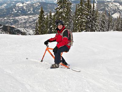 2008 Silver Mountain Idaho Skiing and Skibiking