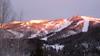 191 Sun setting on Mount Werner