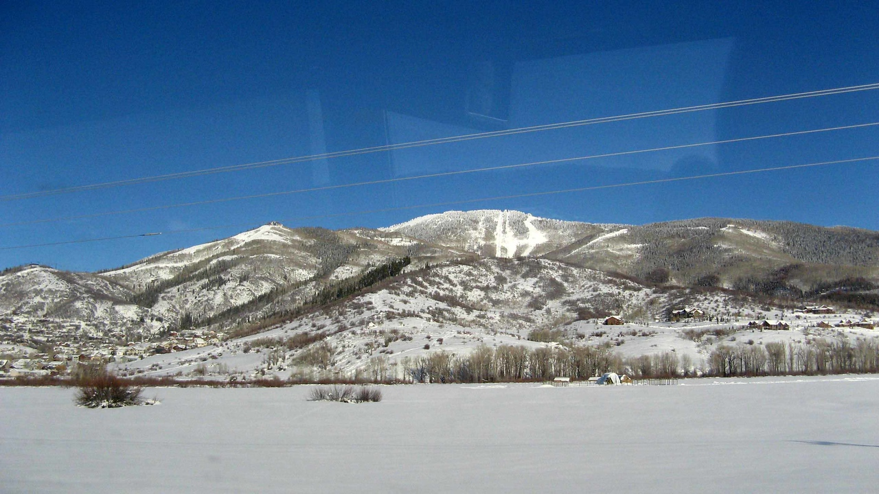 188 First Shot of Steamboat Ski Mountain