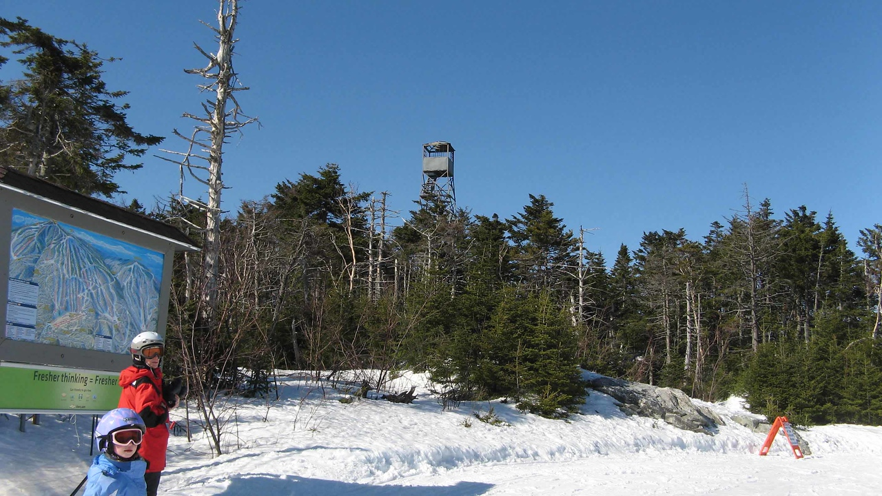 43a Hmmm, irresistible old fire tower to climb