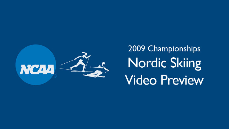 2009 NCAA Championships: Video preview of the Nordic Freestyle course at Black Mountain of Maine in Rumford