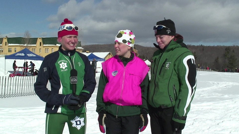 Middlebury Carnival: Interview with 3x5k relay winning Dartmouth team