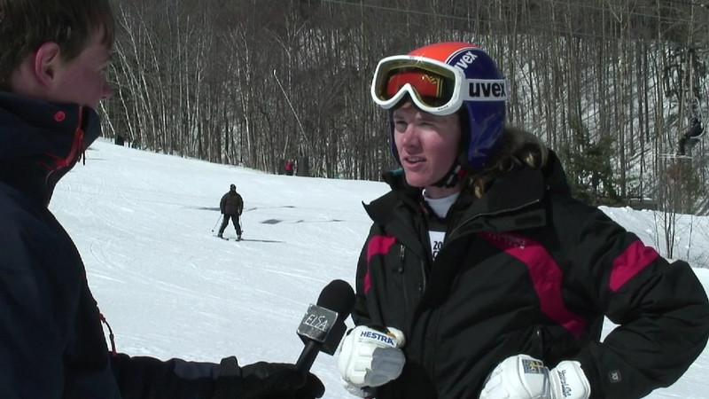 NCAA Giant Slalom: Lindsay Cone