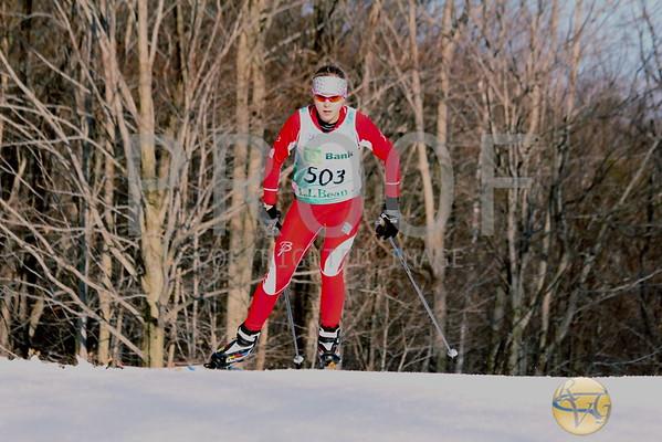2012 J2 Championships Girls 5K Freestyle