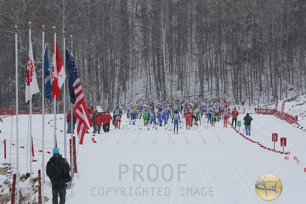 2012 US Cross Country Championships - Men's 30K Classical Mass Start