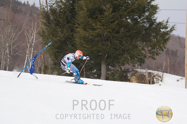 2013 Men's KVAC/MVC Giant Slalom