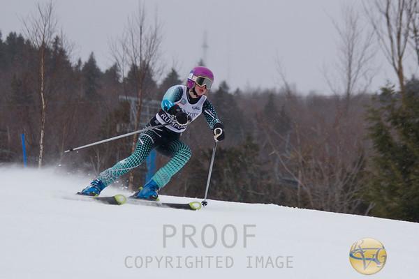 2013 Women's KVAC/MVC Giant Slalom