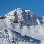 Grand Tetons in Powder