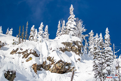 Grand Tetons in Powder