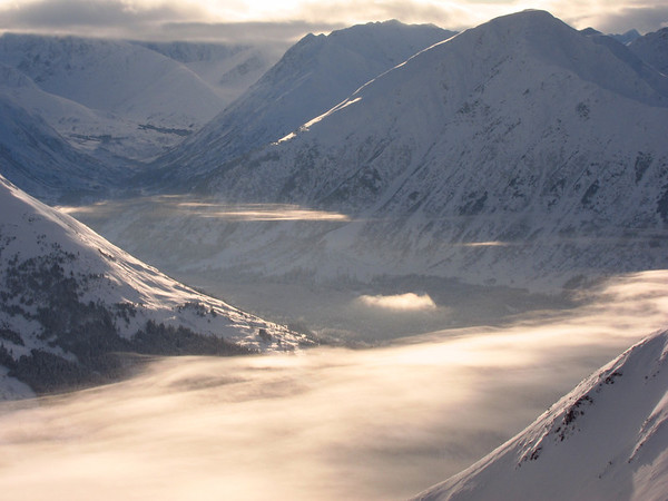 Alaska skiing - Turnagain Pass