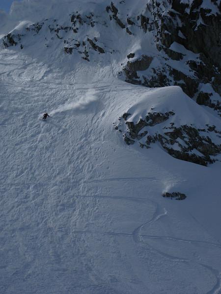 Birthday weekend skiing