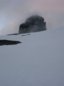 The Black Tusk is just visible over the next ridge.