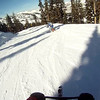 Video of Jeanne on skibike on one of first runs.<br /> <br /> Jeanne Brighton GOPR0203